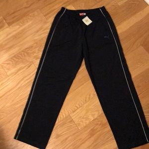New with the tags Puma track pants medium